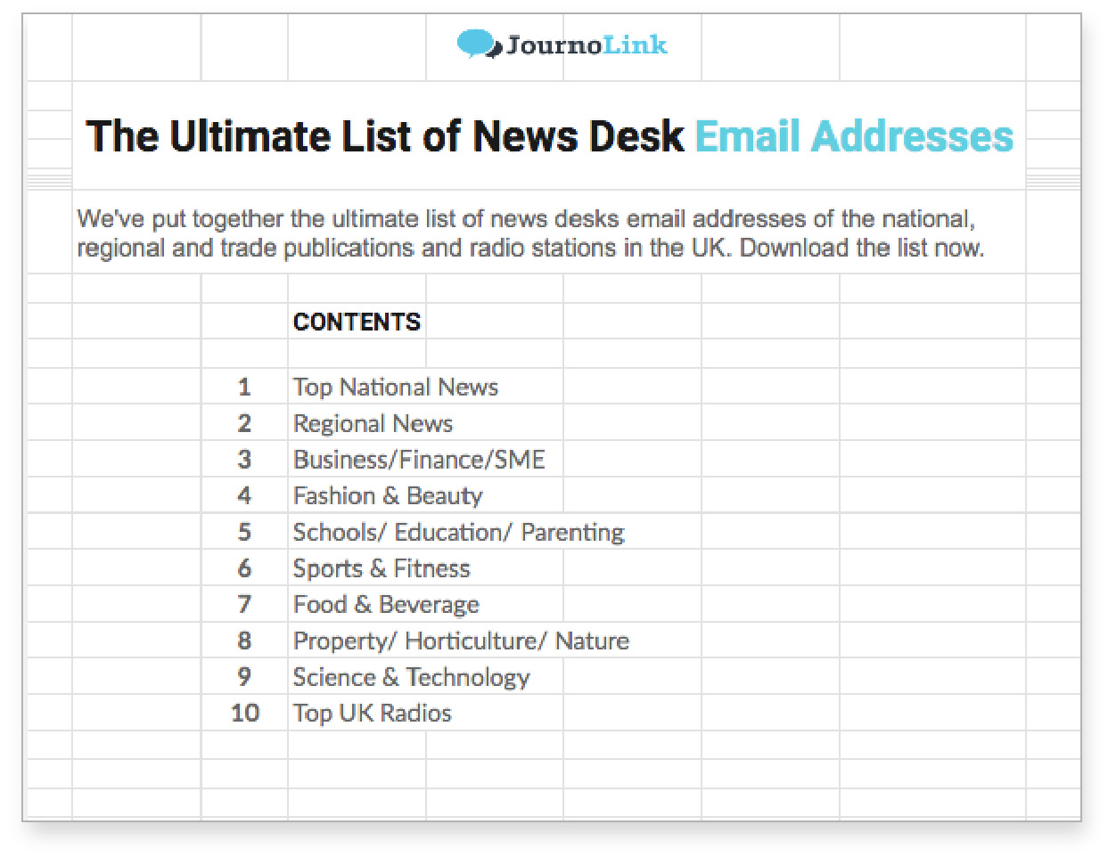 Newsdesk-email-list-publications